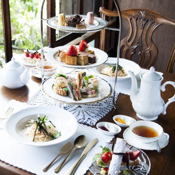 salon de the Tea shot